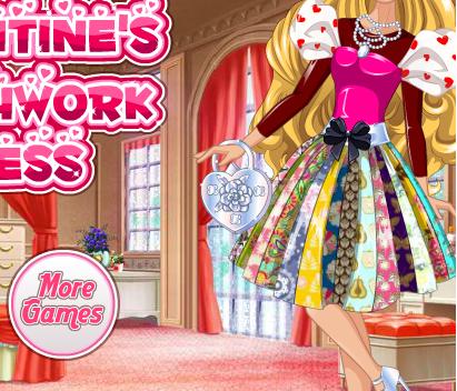 Valentine của Barbie, game ban gai
