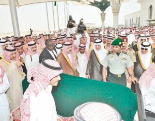 تشييع جثمان الامير نايف بن عبدالعزيز بمشاركة الشيخ صباح الاحمد 17-6-2012