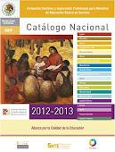 Catálogo Nacional 2012-2013