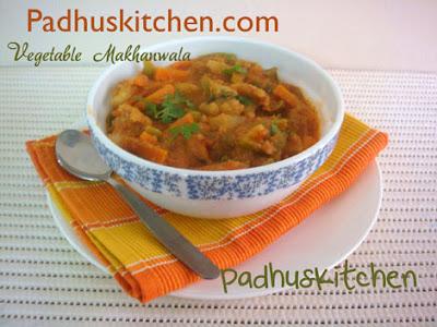 Vegetable Makhanwala-Vegetable Makhani