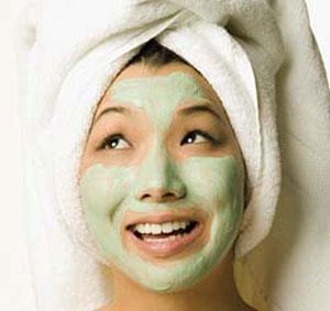 masker alami jerawat