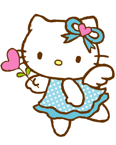 Photoscape Brushes: Hello kitty cute