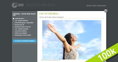 """Screenshot der Deutschlerner-Community """"Deutsch für Dich"""""""