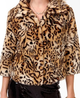 Forever 21 animal Pattern Jacket