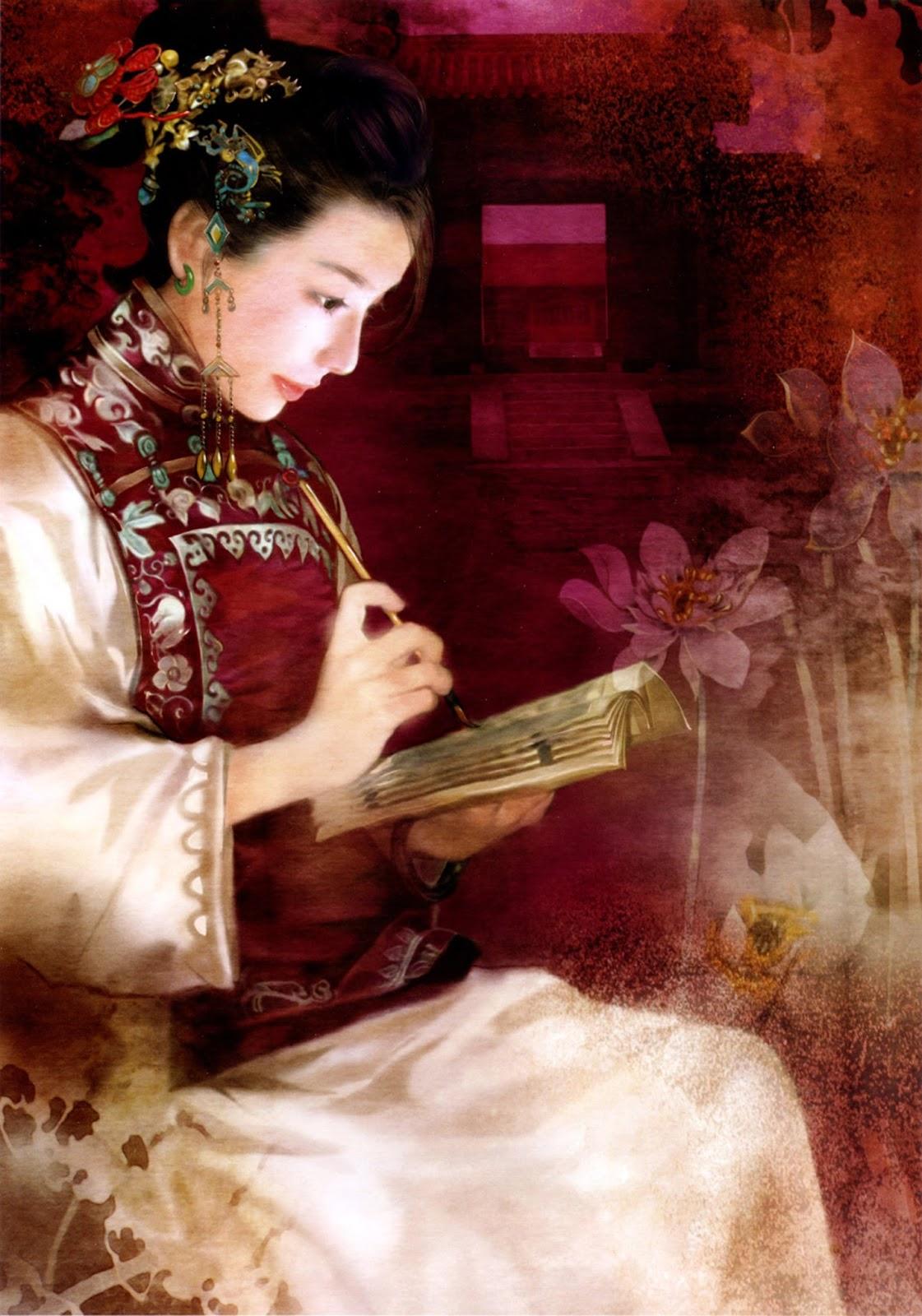 Причёски в древнем китае