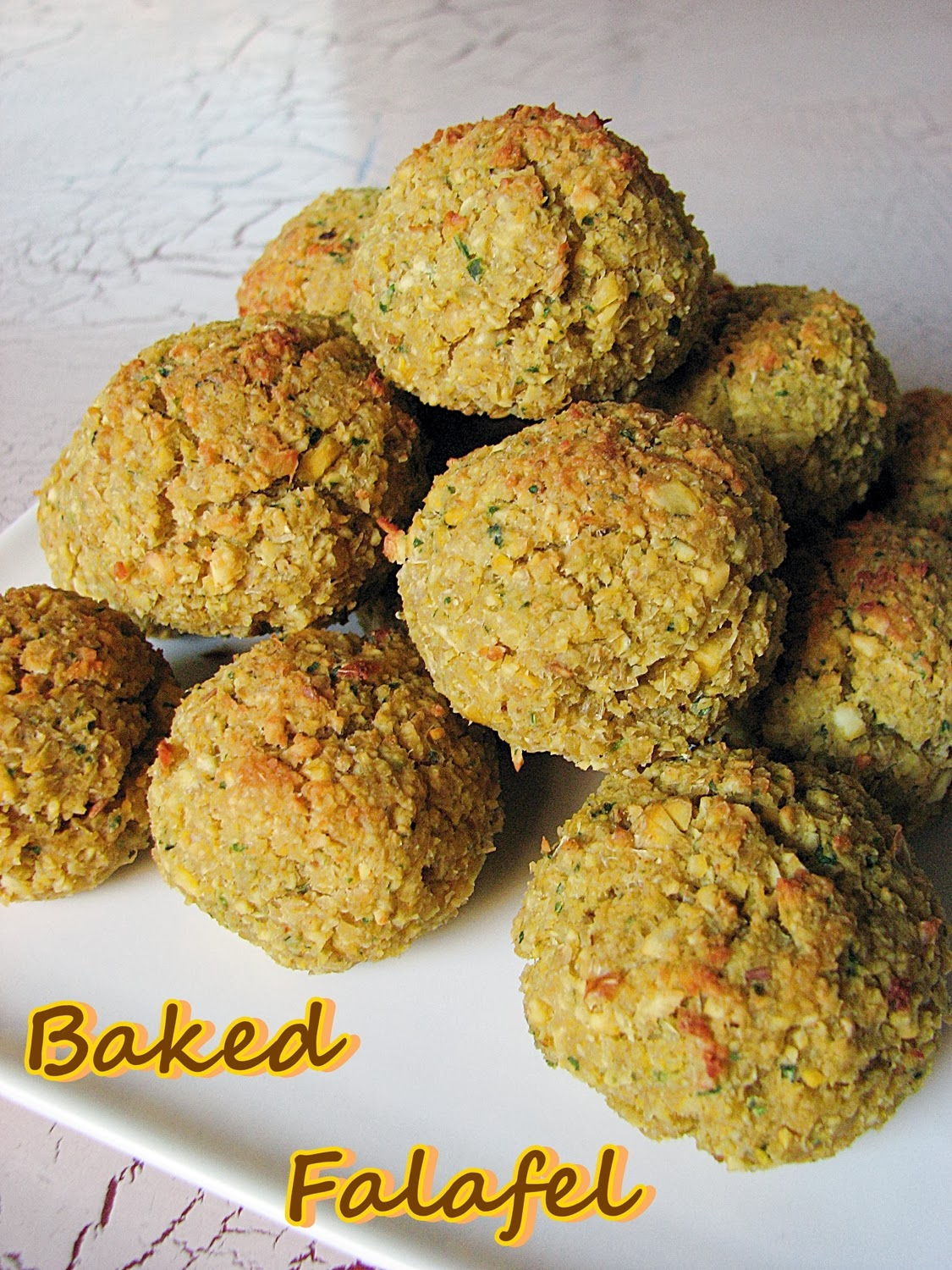 Delicious falafel with a little twist