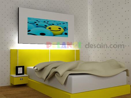 kitchenset pelangi desain interior kamar tidur anak cowo
