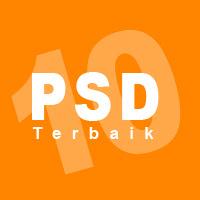 10 PSD Templates Terbaik