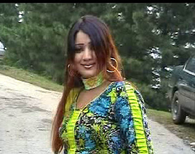 Pashto Film Drama Hot Actress Khalida Yasmin and Shakeela