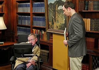 Stephen Hawking en Big Bang Theory