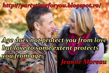 Age does not protect you from love  but love to some extent protects you from age.