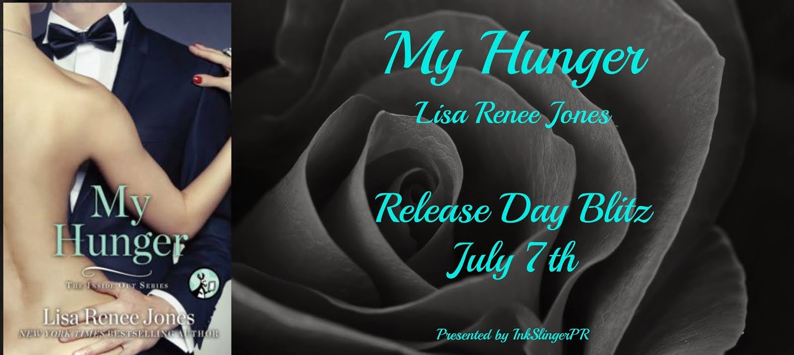 MY HUNGER Release Day Blitz & Giveaway