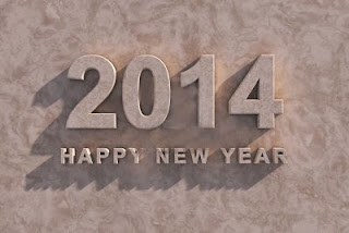 new year 3 d wallpaper