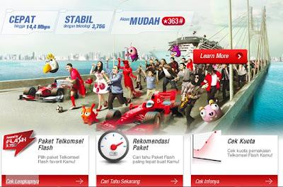 Paket Internet Telkomsel Terbaru 2013