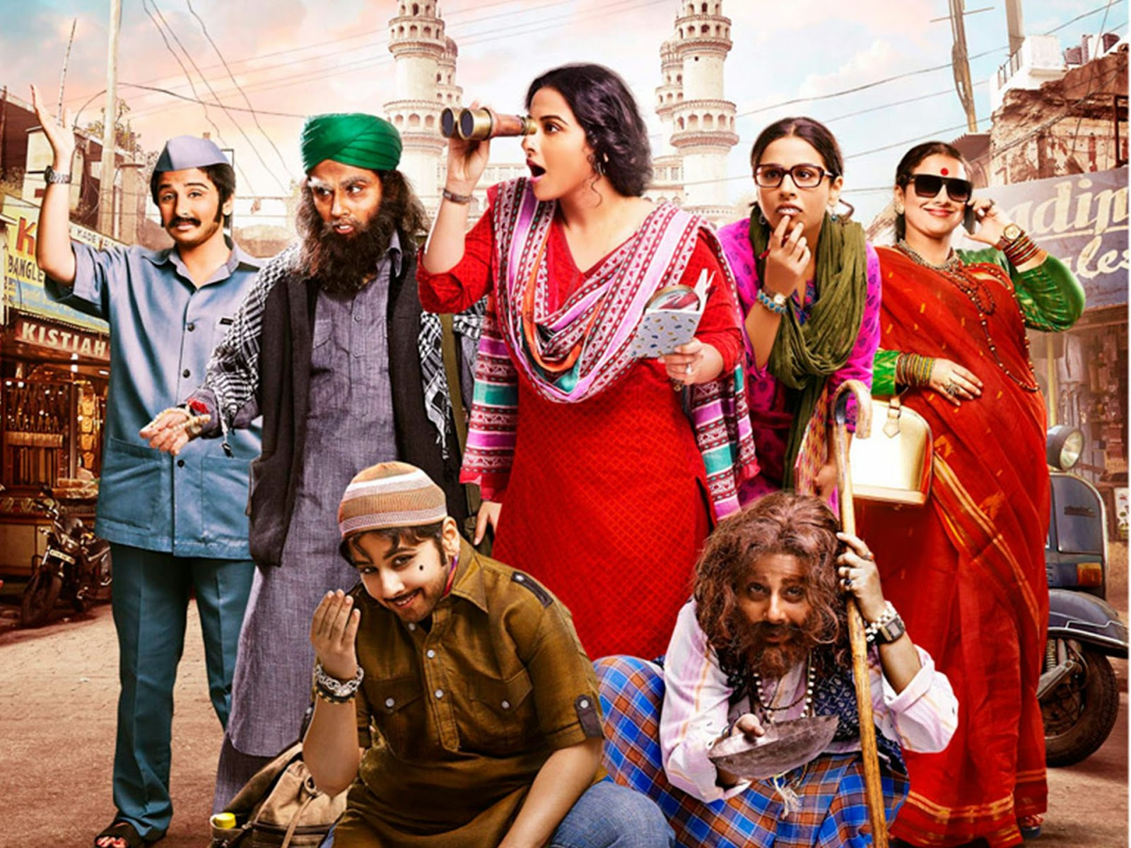 Bobby Jasoos - Vidya Balan - Dia Mirza - Shreya Ghoshal - Wallpaper Video Songs
