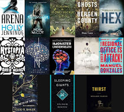 2016 Debut Author Challenge Cover Wars - April Debuts