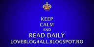 Keep calm and read daily