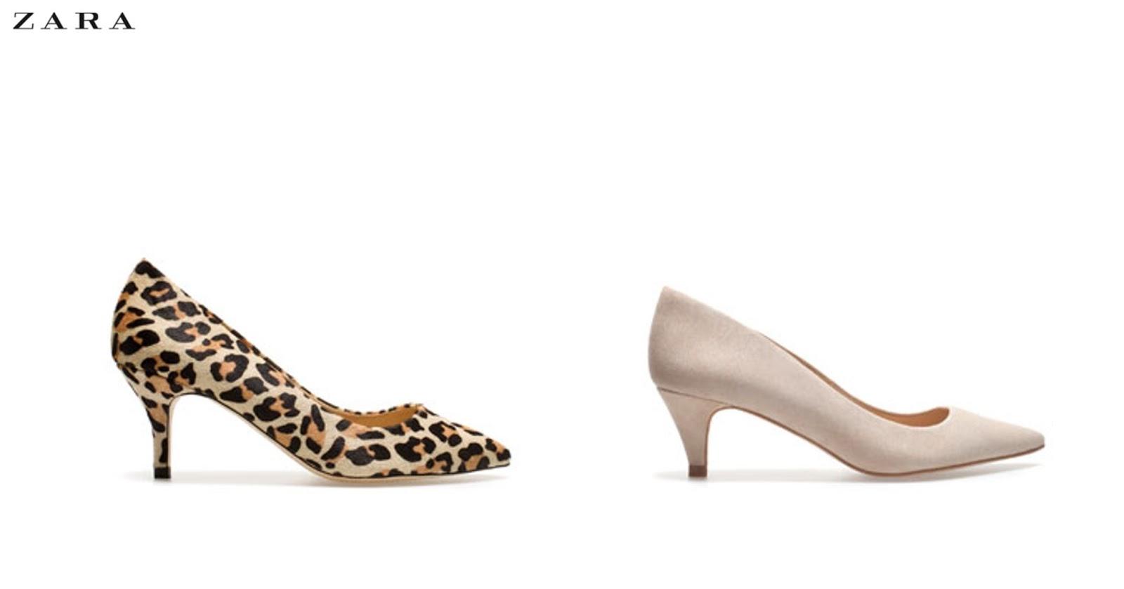 Zara Kitten Heel Pointed Shoes