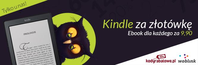 Kindle za złotówkę, e-booki za półdarmo!