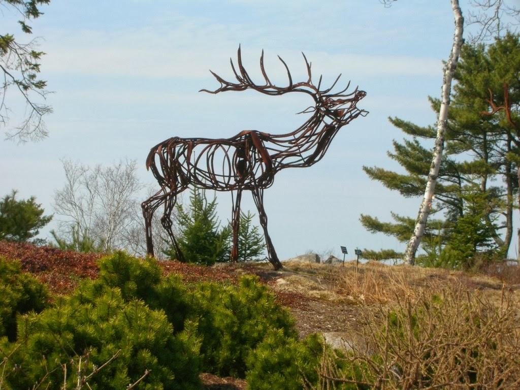 White Cedar Inn Today S Is For Sculpture