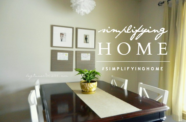 simplifying home // intro