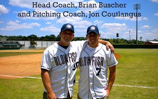 Photo of Columbia Blowfish Baseball Coaches