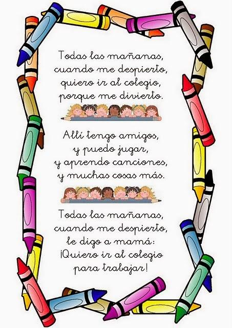 Poesia de la familia para niños - Imagui
