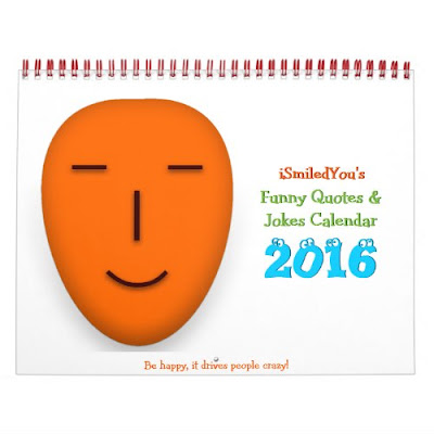 iSmiledYou Funny Quotes and Jokes Calendar