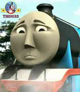 Thomas & friends Grand Gordon the tank engine groaned sadly magnificent gold lion of Sodor lost