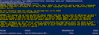 Powershell create new Active Directory Forest