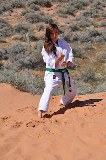 Cedar Ridge Academy Therapeutic Boarding School Karate Student