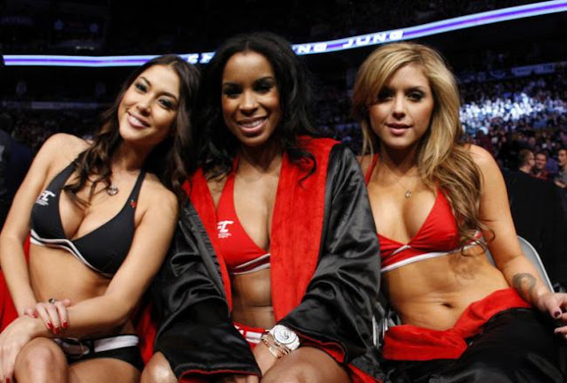 ufc mma ring girls models arianny chandella brittney group picture image pic img