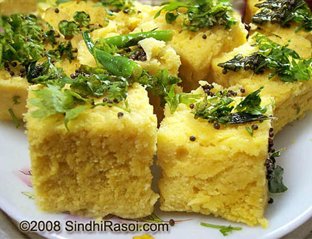 Dhokla recipe steamed snack recipe sambit s dishes dhokla recipe steamed snack recipe forumfinder Image collections