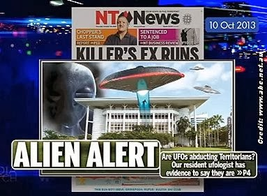 Alleged 'Alien Abduction' Lambasted By Paul Barry, Host of Australia's Media Watch
