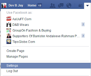 Disable Facebook Following