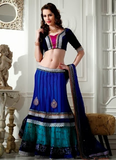 Lehenga with Sharara Bottom