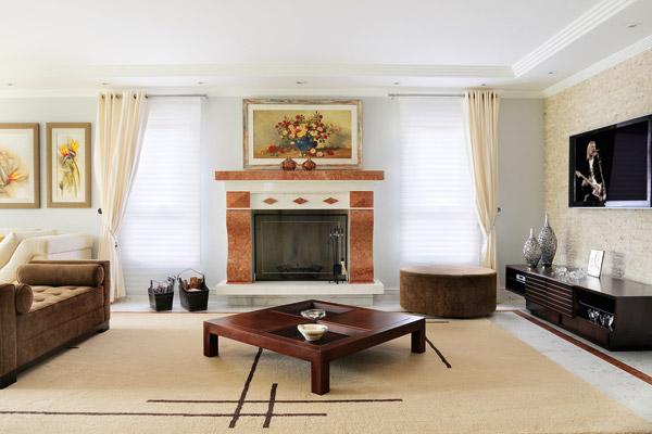 Salas color tierra ideas para decorar dise ar y mejorar tu casa - Color tierra pared ...