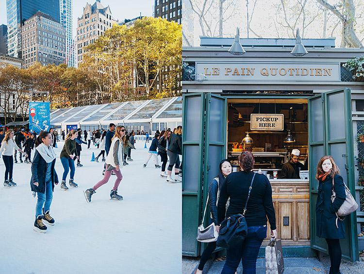 New York holiday market_Bryant Park