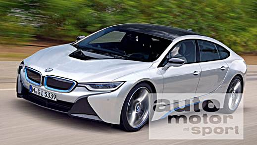 2017 BMW i5 Takes Design Cues From The i8