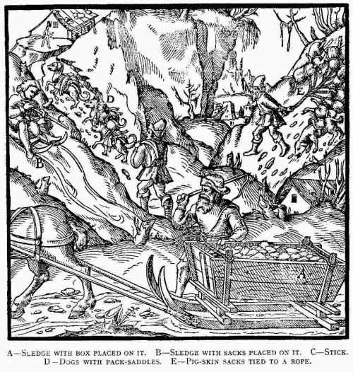 history of geology bone and blood is the price of coal animals in E De Re agricola de re metallica libri xii 1556 apart horses or mules in alpine regions also dogs were used to help in the transport of the ore
