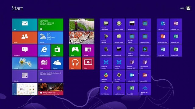 Windows 8 Professional Screenshot