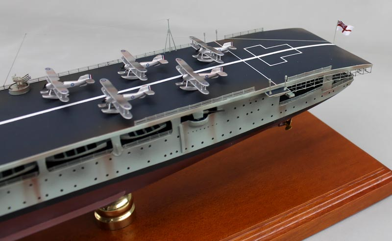 HMS Hermes (95) Aircraft Carrier Model | SD Model Makers