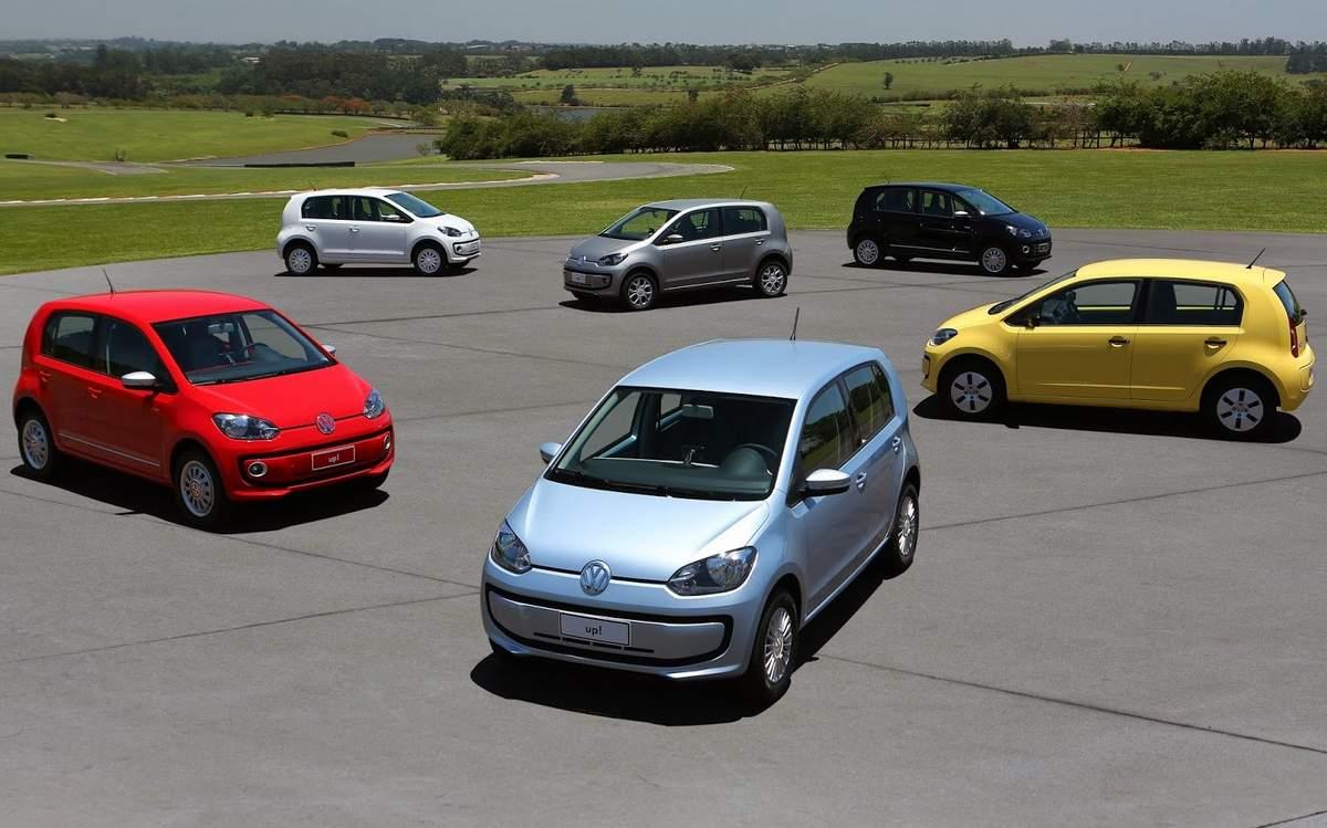 Volkswagen up! - Tabela de preços oficial
