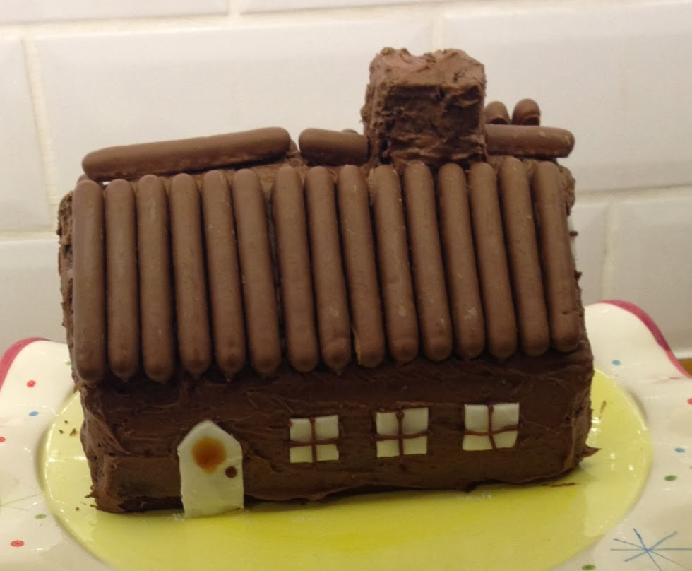 House design cake -  Cake House Muffin Tops And Soggy Bottoms Week 52
