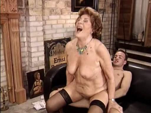porno damen oma por