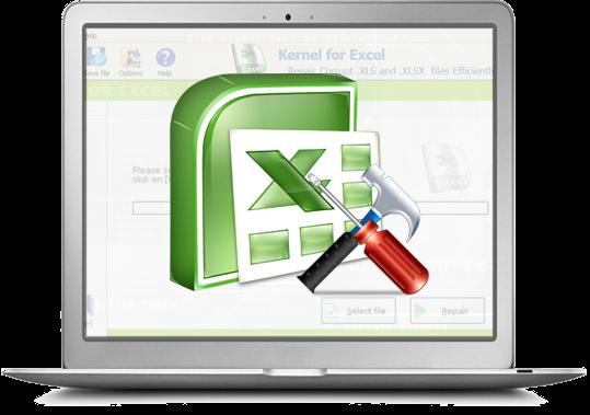 Excel repair software