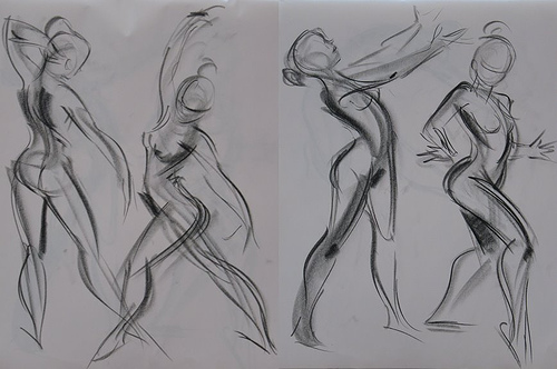 Famous Expressive Line Art : Famous gesture drawings imgkid the image kid