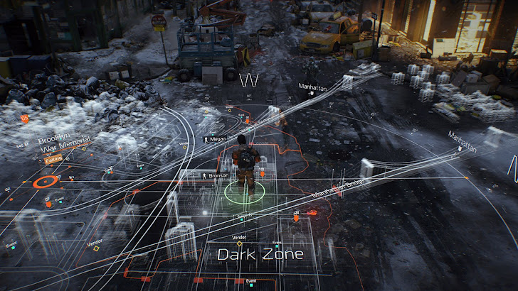 The Division Game Map