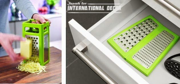 Foldable grater, organizing small apartment, smart gadgets