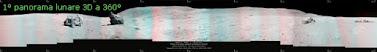Il primo panorama lunare 3D a 360° mai realizzato